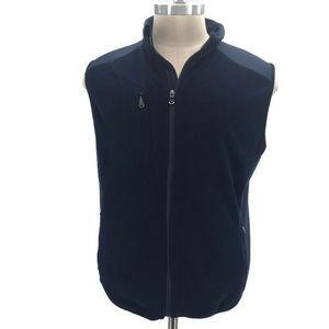 RLX Ralph Lauren  Navy Blue Spellout Vest